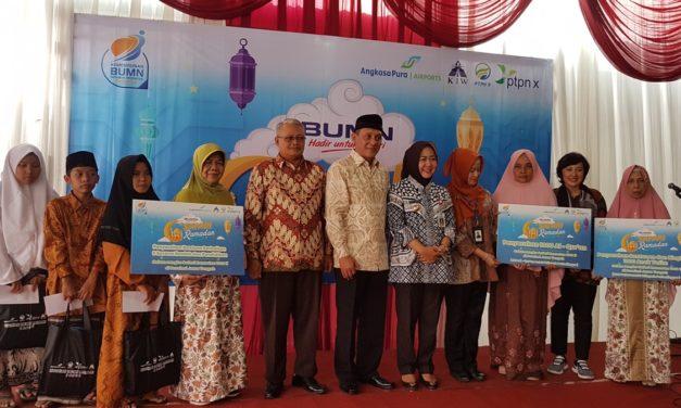 Panti Asuhan Darul Hadlonah, Kelurahan Karangsentul Terima Bantuan Dari PT Angkasa Pura I
